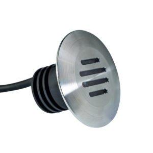 Aluminium slotted recessed light 300x300 - Aluminium Slotted Recessed Light 12v (450 lumens)