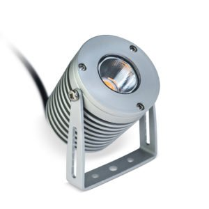 HAMILTON DanRouse 0009 LO RT 300x300 - Anodised Aluminium Power Spot Light 12v (540 lumens)