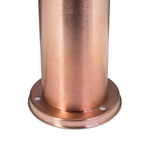 HAMILTON DanRouse 0024 LO RT 600x600 - Copper  Bollard Light (12v)