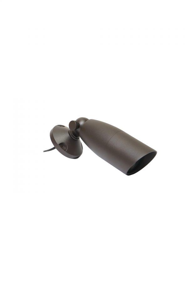 DSC0559 600x900 - Aluminium (Bronze finish) Spike Spot Up Light (12V) with tree / wall mount