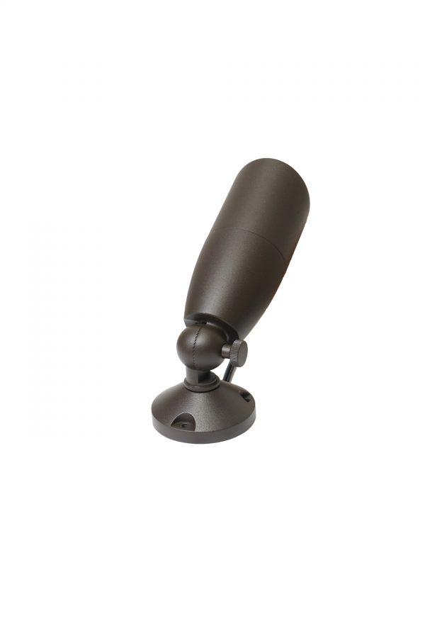 DSC0562 600x900 - Aluminium (Bronze finish) Spike Spot Up Light (12V) with tree / wall mount