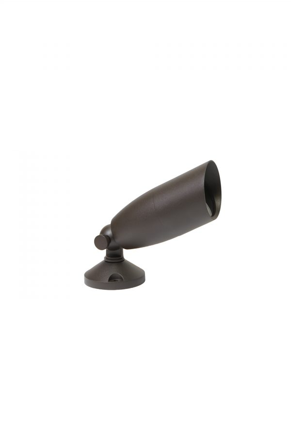 DSC0564 600x900 - Aluminium (Bronze finish) Spike Spot Up Light (12V) with tree / wall mount