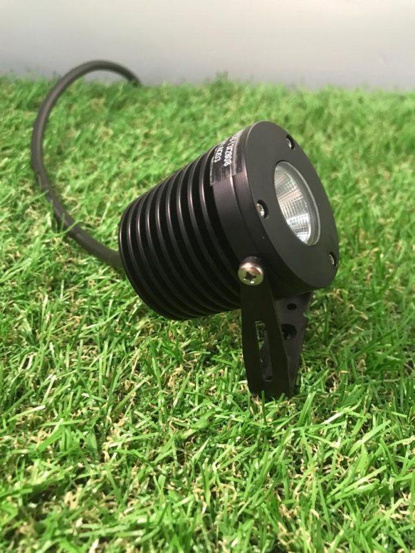 PHOTO 2019 09 18 16 50 49 3 600x800 - Anodised Aluminium (Black) Power Spot Light wall mount 12v (540 lumens)