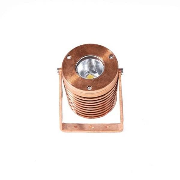 cyclops 400 copper 600x600 - Solid Copper Power Spot Light 12v (540 lumens)
