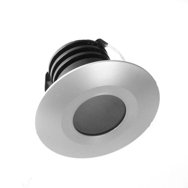 ali recessed  600x600 - Aluminium Recessed Light 12v (450 lumens)