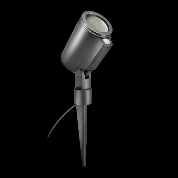FLOOD LIGHT SPOT GARDEN S CONNECT ANT 0 1 600x600 - Steinel Spot Garden Sensor Connect LED Floodlight