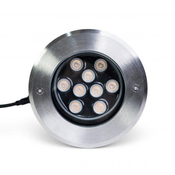 HAMILTON III 0012 RT 1080 SQ 600x600 - Adjustable LED Inground Light 24W (1800 lumens)