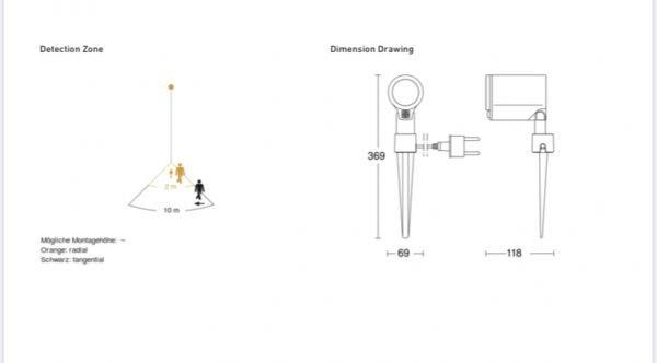 IMG 0735 600x332 - Steinel Spot Garden Sensor Connect LED Floodlight