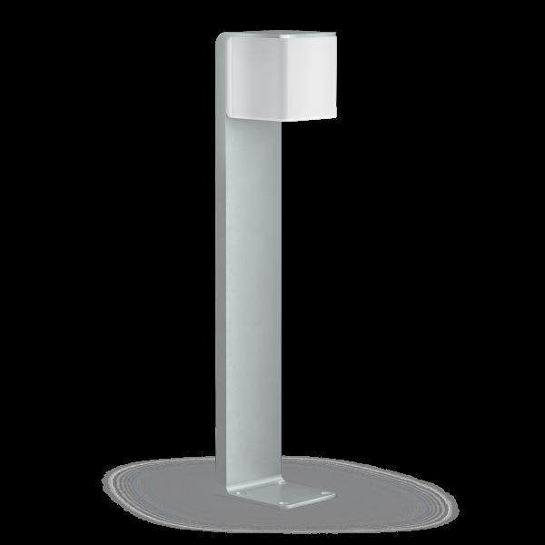 OUTDOOR SENSOR LIGHT GL 80 LED IHF SI 0 600x600 - Steinel GL 80 LED iHF Sensor Switched Outdoor Light (Silver finish)