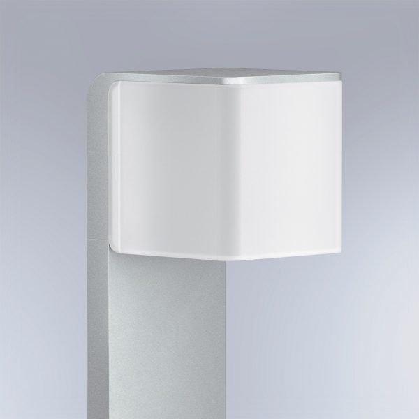 OUTDOOR SENSOR LIGHT GL 80 LED IHF SI 1 600x600 - Steinel GL 80 LED iHF Sensor Switched Outdoor Light (Silver finish)