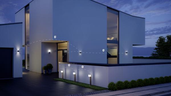 OUTDOOR SENSOR LIGHT L 835 LED IHF ANT 3 600x338 - Steinel L 835 LED iHF Sensor Switched Outdoor Light (Anthracite finish)