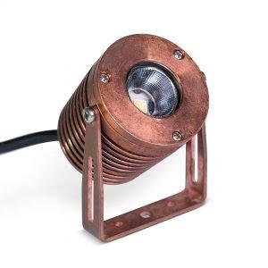 PR2 0098 RT 1080 SQ 300x300 - Solid Copper Power Spot Light wall mount (540 lumens)