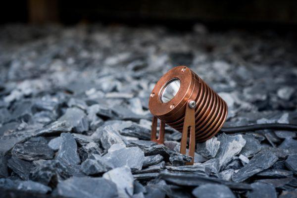 PR2 0265 retouch 600x400 - Solid Copper Power Spot Light wall mount (540 lumens)