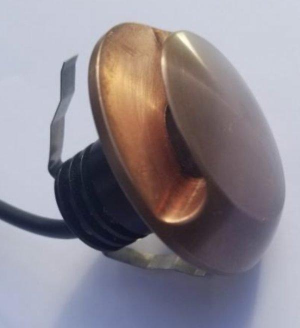 A93B76F2 C659 4EC3 AE35 F77512F010BC 600x657 - Copper Recessed Ground Side Light 12v (270 lumens)
