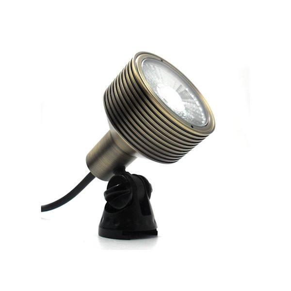 17C67485 E028 4AF8 B461 FF2B6CBBD785 600x600 - Antique Brass Garden LED Spike Spot Light with spike 12v (1200 lumens)