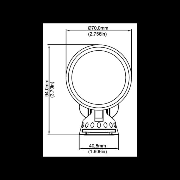 336B2DC9 3D25 4071 B86F FA643C5ED1C7 600x600 - Antique Brass Garden LED Spike Spot Light with spike 12v (1200 lumens)