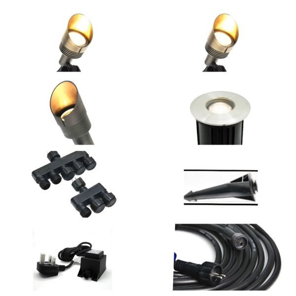 66713B2E 8B25 4AF7 B094 0FC83959EAF2 600x600 - Plug and Play - Large kit with wide selection of outdoor lights