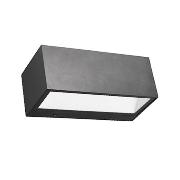 15DCCF26 B55E 46A1 8C53 8B5F6458A6ED 600x600 - Outdoor Black Up and Down Wall Light 240v (300 lumens)
