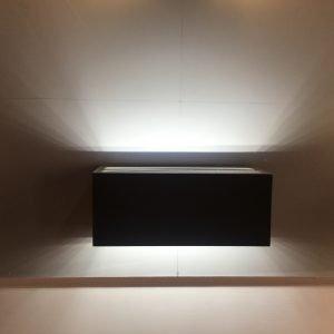 3DF80E31 BC92 44C6 81DF E09A9BAED083 300x300 - Outdoor Black Up and Down Wall Light 240v (300 lumens)