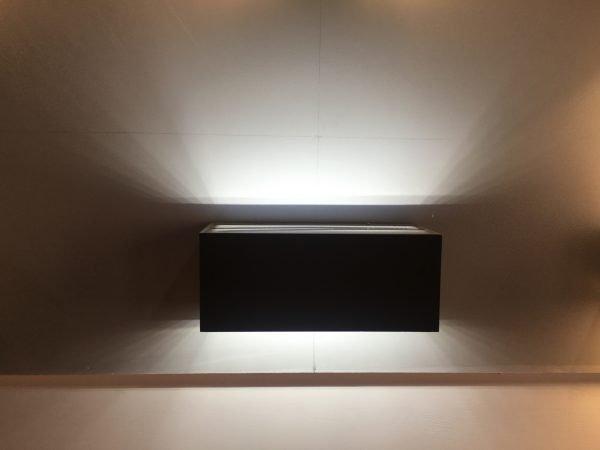 3DF80E31 BC92 44C6 81DF E09A9BAED083 600x450 - Outdoor Black Up and Down Wall Light 240v (300 lumens)