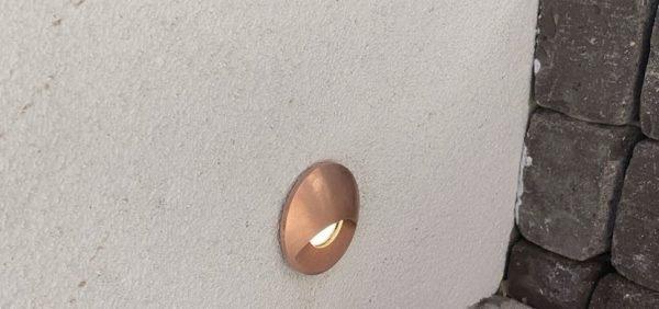 0CA2E587 20FD 45D9 ACBE 2B0C0B34AD82 600x282 - Solid Copper Step Recessed Light 12v (450 lumens)