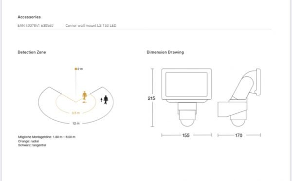 E97E451E 50CA 4955 AFD0 B6E5FDFB0106 600x372 - LS 150 Sensor Switched LED Floodlight (White)