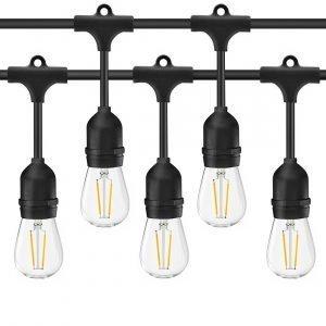 BA657D72 4865 4D0D 8E3D 13732989CAC4 300x300 - Mains Connected Festoon Garden String LED Lights (15M, 15 Sockets)